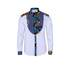 Chemise Wax Homme – Pagne Africain